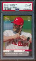 2019 Topps Now Spring Training Bryce Harper PSA 10 Gem Mint SP #ST-3 Card