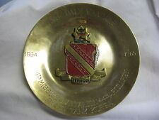 Rare! Korea 4th Missile Btn 44th Artillery Rgmt Brass Plaque 1960s Nike Hercules