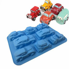 8 Truck Jeep Car Mould Shape Silicone Cake Baking Mold/Cake Pan Muffin Cups DIY