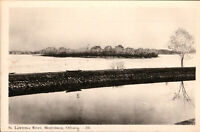 Morrisburg Ontario RPPC St Lawrence River Vintage Postcard- *Free Shipping*