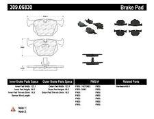 StopTech 309.06830 Sport Brake Pads Fits 91-10 850i 535xi X3 X5 M3 - 3.0 L