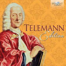 TELEMANN EDITION 50 CD NEU TELEMANN,GEORG PHILIPP