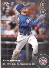 Kris Bryant Chicago Cubs Topps Now #186 June 27 2016 Baseball Card