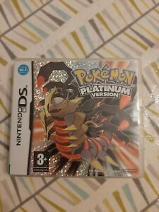 Nintendo DS Pokémon Platinum version 2009 complete boxed with booklet