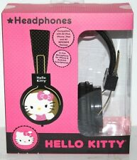 HELLO KITTY HEADPHONE DJ STYLE HI-DEFINITION SOUND IN-LINE MICROPHONE