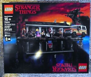 LEGO 75810 STRANGER THINGS NETFLIX THE UPSIDE DOWN W DEMOGORGON MINI MISB SEALED