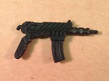 Frag-Viper v1~ Black Machine Gun Rifle~  Gi Joe Parts~ Vintage 1989  Hasbro~
