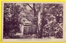 CPA RARE France Ile de Ré 17 - LA COUARDE sur MER La Fontaine du Bois HENRI IV