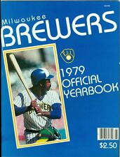 1979 Milwaukee Brewers Yearbook: Larry Hisle Cover