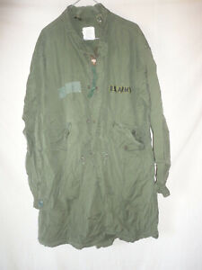 US Army  - Parka Extreme Cold Weather , Fishtail M 65 -  Gr. Small