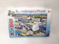 100 Parti XXL Puzzle - Campo D'Aviazione - Ravensburger - Nuovo / Conf. Orig.