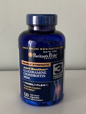 Puritan's Pride Glucosamine Chondroitin MSM - 120 Rapid Release Capsules - New