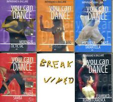 YOU CAN DANCE: 5 dischi impariamo a ballare - DVD NUOVO