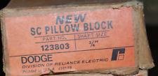 Dodge Sc Pillow Block Bearing 123803 34 Diameter Shaft Size