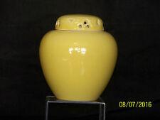 Rookwood c1953 American Art Pottery Mid Century Retro Yellow Glaze Vase