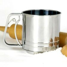 NORPRO Stainless Steel Flour Sifter Cup Icing Sugar Shaker Strainer Sieve NP131N
