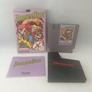 Nintendo NES - Boulder Dash PAL B - Complete in Box CIB