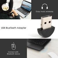 Mini USB Bluetooth V2.0 Wireless Dongle Adapter for Laptop PC Win Xp Win7 8