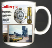 WARSOP MAIN COLLIERY COAL MINE MUG LIMITED EDITION GIFT MINERS NOTTINGHAMSHIRE