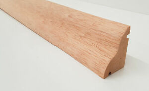 Hardwood Weather Board Reversible Timber Wooden Bar 915mm 3' Weatherboard Drip