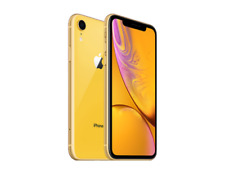 Apple iPhone XR - 64GB - Verizon + GSM Unlocked T-Mobile AT&T 4G LTE- Yellow
