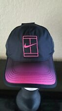 Nike Featherlight Court Tennis Hat Black -Blue 864099-011