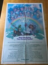The Muppet Movie One Sheet Poster 1979 Jim Henson