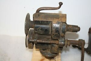 Vintage Peck Stow & Wilcox Co Burring, Bead Roller 134 Tinsmith Sheet Metal Tool