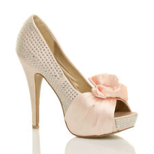 Bridal or Wedding Unbranded Slim Heels for Women