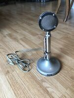 Vintage ASTATC D-104 Desk Microphone With UG8 Stand