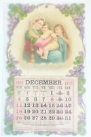 Vintage 1910 Calendar Cute Adorable Arts And Crafts