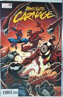💥 ABSOLUTE CARNAGE #2 RON LIM VARIANT NM NM- VENOM SPIDER-MAN KNULL MARVEL 2019