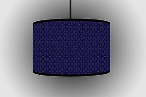 30cm Lampshades Navy Blue Pathetic Lampshade Hanging Lamps for Bedroom Floor Lam