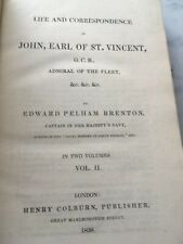 More details for life and correspondence of john earl of st vincent vol 1 and 2