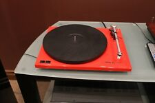 Thorens TD203 Red Turntable includes TAS257 Moving Magnet Cartridge