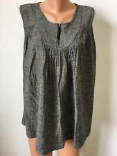 The MASAI Clothing Company size M / L / XL Linen Cot Visc Sleeveless Tunic Top