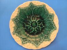 Antique Majolica Wedgwood Plate Majolica Cauliflower Plate