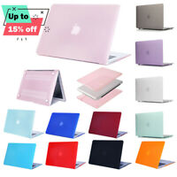 Rubberized Matte Hard Case Cover Skin For MacBook Pro 15.4 Retina 12'' Air 11.6