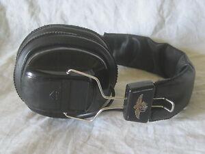 *finicky volume knob * PT-400 AM FM Indianapolis Motor Speedway headset radio