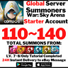 [Global] [Instant] Buy 2 Get 3 110-140 Summons Summoners War Starter Account