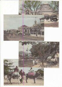 SENEGAL DAKAR  4 X Afrique Occidental color tinted POSTCARDS 1900s