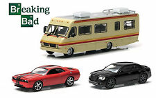 BREAKING BAD 3PC SET RV CHRYSLER CHALLENGER 1/64 GREENLIGHT 33021-44690A-44690B