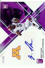 jalen myrick rookie rc draft auto autograph minnesota gophers elite college #/99