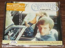 CARPENTERS Japan PROMO ONLY CD As Time Goes By 14 TRACKS pic sleeve MORE LISTED