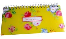 Weekly Organisateur Planificateur-pictural Fleurs-Go Stationery