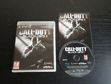 CoD Call of Duty Black Ops 2 II Playstation PS3 Video Game Manual PAL
