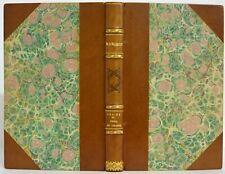 Traité arme FUSIL PISTOLET CHASSE envoi autographe MANGEOT vénerie chien éo 1851