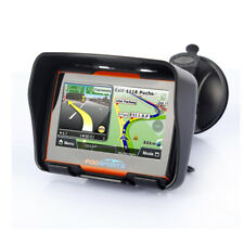 "4.3"" Touch Screen GPS Motorcycle Car Bluetooth Waterproof Navigation SAT NAV+Map"
