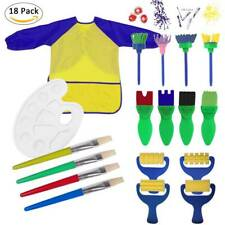 EVNEED Paint Sponges for Kids,18 pcs of fun Paint Brushes for Toddlers.Coming 31
