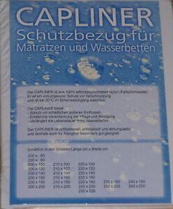 Schonbezug Topliner Capliner für Wasserbetten Teflonbeschichtet Ballonseide